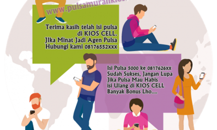 SMS Buyer Kios Pulsa